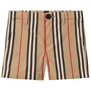 Image of Burberry Archive Beige Icon Stripe Chino Shorts 12 years (3125346253)