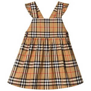 Image of Burberry Antique Yellow Ruffle Detail Dress 12 years (3125346279)
