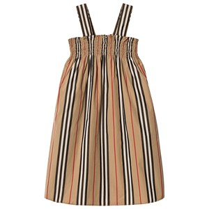 Image of Burberry Archive Beige Smocked Dress 10 years (3125346357)