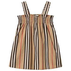 Image of Burberry Archive Beige Smocked Baby Dress 12 months (3125348841)