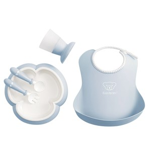 Image of Babybjörn Baby Dinner Set Powder Blue One Size (1335192)