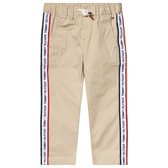 Tommy Hilfiger Branded Taped Chinos Beige 082