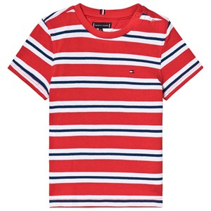 Image of Tommy Hilfiger Stripe Tee Red 8 years (3125229793)