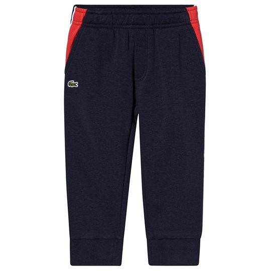 Lacoste Branded Sweatpants Navy 9ET