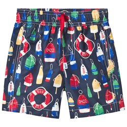 Hatley Nautical Swim Shorts Navy