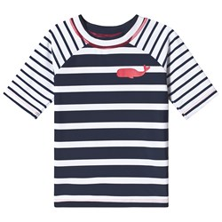 Hatley Nautical Stripes Rash Guard Navy