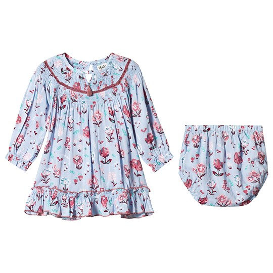 Hatley Blue Happy Floral Dress HAPPY FLORAL