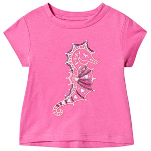 Image of Hatley Seahorse Baby T-shirt Pink 6-9 mdr (1223954)
