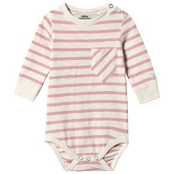 ebbe Kids Vecka Babybody Off White/Blush Pink