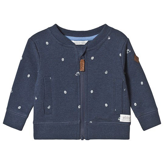 ebbe Kids Toby Sweatshirt Boats On Blue Boats on blue