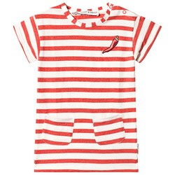 Sproet & Sprout Pepper Dress Red/Milk
