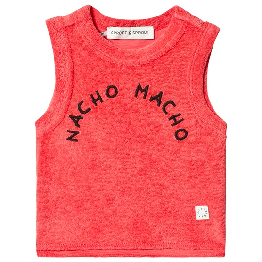 Sproet & Sprout Nacho Macho Tank Top Red 063