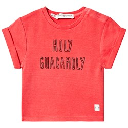 Sproet & Sprout Holy Guacamole Tee Red