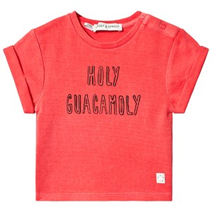 Image of Sproet & Sprout Holy Guacamole Tee Red 110-116 (5-6 years) (3125241493)