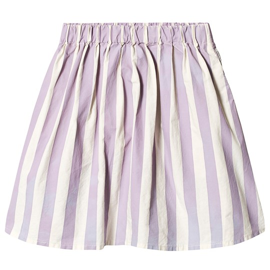 Sproet & Sprout Stripe Skirt Violet/Shell 45