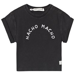 Sproet & Sprout Nacho Macho Tee Washed Black