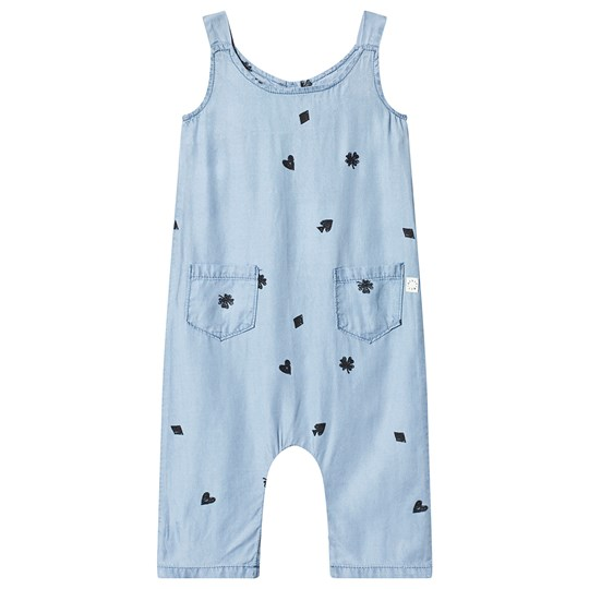 Sproet & Sprout Playing Cards Jumpsuit Light Blue 041