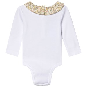 Image of Cyrillus Liberty Baby Body White 1 month (3125361985)