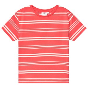 Image of Cyrillus Stripe Tee Coral 6 years (3125323799)