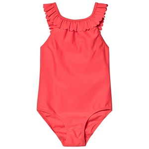 Image of Cyrillus Frill Swimsuit Red 6 years (3125360099)