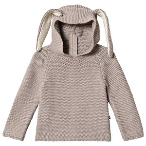 Image of Oeuf Bunny Hoodie Light Grey 12 mdr (3125346583)