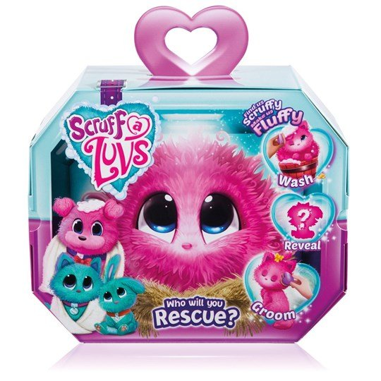 Scruff-a-Luvs Surprise Pet Aqua Blue