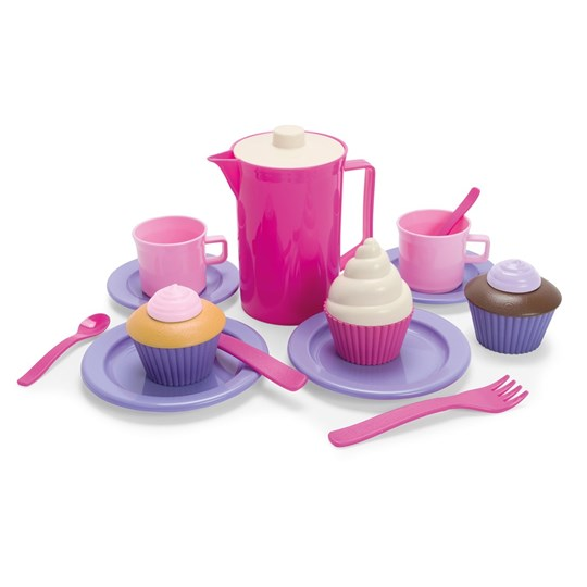 Dantoy Thorbjörn, Coffee and Cookie Set, 20 pcs Pink