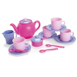 Dantoy Tea Set, 17 pcs, Pink
