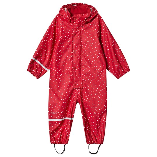 Celavi Red Coverall Red