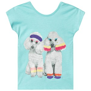 Image of Billieblush Aerobic Poodles Tee Blue 10 years (3125240103)