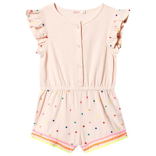 Billieblush Embroidered Playsuit Light Pink 455