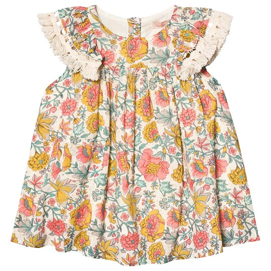 Louise Misha Costa Dress Multi Flowers Multi Flowers