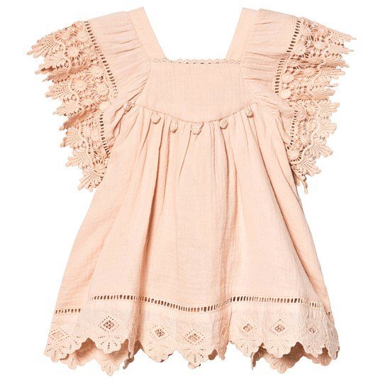 Louise Misha Grenadine Dress Blush Blush