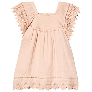 Image of Louise Misha Grenadine Dress Blush 4 år (3138211281)