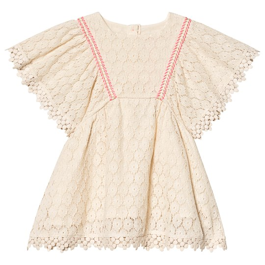 Louise Misha Norah Dress Cream Flower Lace Cream Flower Lace