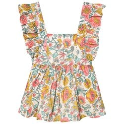 Louise Misha Varadero Dress Multi Flowers