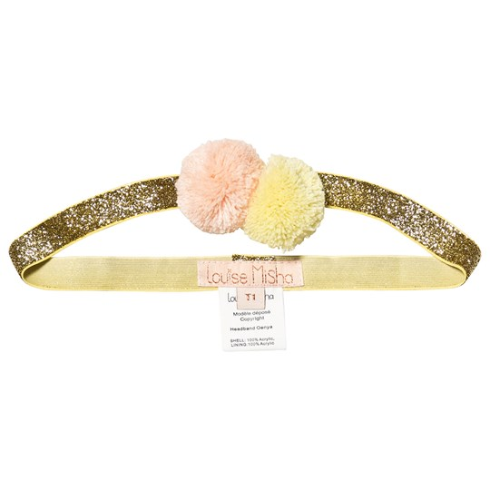 Louise Misha Oneya Headband Gold