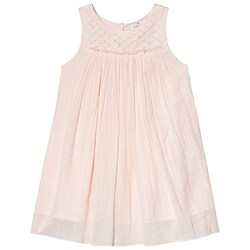 Cyrillus Pale Pink Pleat Dress