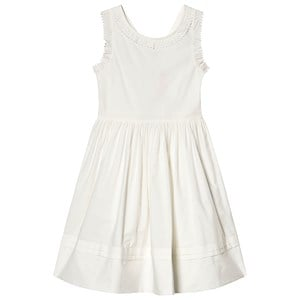 Image of Cyrillus Cross Over Dress White 3 years (3125354471)