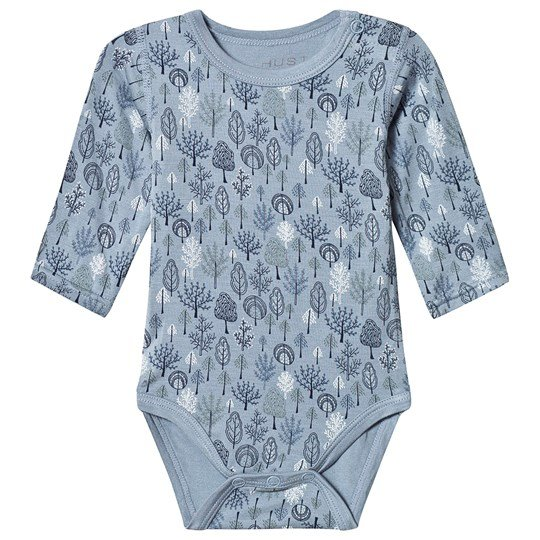 Hust&Claire Buller Baby Body Blue Blue ash