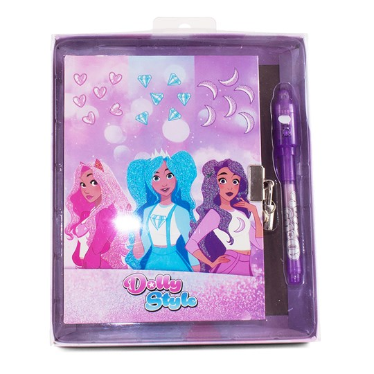 Dolly Style Diary set with magic pen in gift box