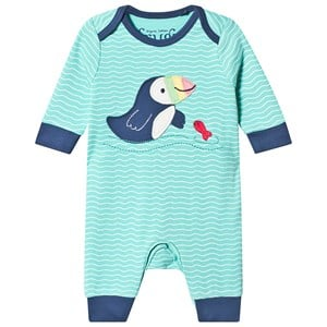 Image of Frugi Charlie One-Piece Scilly Seas 0-3 months (3125232449)