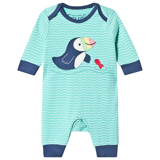 Frugi Charlie One-Piece Scilly Seas Scilly Seas/Puffin
