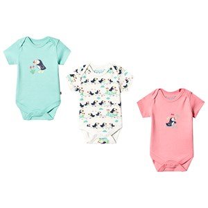 Image of Frugi Super Special 3-Pack Body Multi 0-3 months (3125265493)
