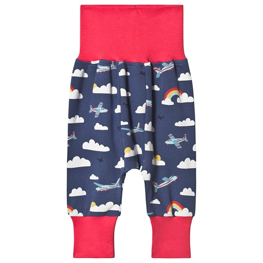 Frugi Parsnip Clouds Pants Navy Marine Blue Scilly Skybus