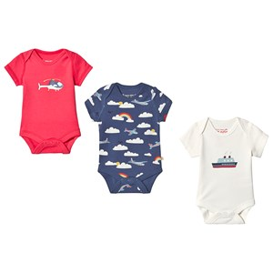 Image of Frugi Super Special 3-Pack Body Multi 3-6 months (3125230473)