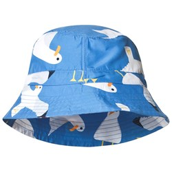 Frugi Harbour Swim Hat Blue