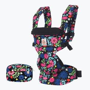 Image of Ergobaby Omni 360 All-In-One baby Carrier French Bull Flores (3125327997)