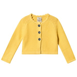 Image of Frugi Carrie Knitted Cardigan Yellow 3-6 months (3125245515)
