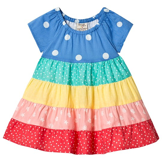 0e49ec99e Frugi - Dorothy Twirly Dress Rainbow Hotchpotch - Babyshop.com